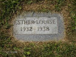 Esther Louise Blackburn