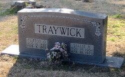 Clifton O Traywick