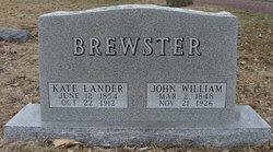 Kate C <i>Lander</i> Brewster