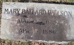 Mary J. <i>Ballard</i> Willson