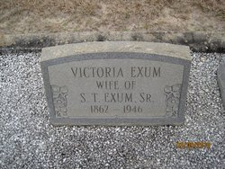 Mary Victoria <i>Holley</i> Exum