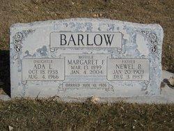 Margaret <i>Fullmer</i> Barlow