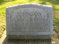 Virgil W Johnson