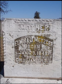 Elmira J <i>Balliet</i> Metzger