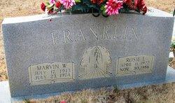 Rosie L <i>Brown</i> Franklin