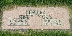 Howard W Bair