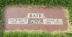 Hayward O Bair