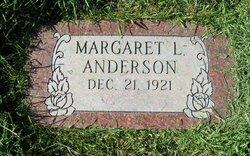 Margaret L Anderson