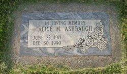Alice M Ashbaugh