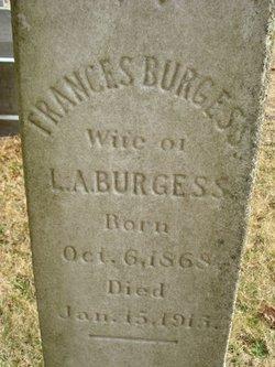 Frances Lurinda <i>O'Bier</i> Burgess