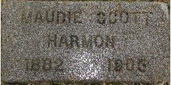 Maudie <i>Scott</i> Harmon