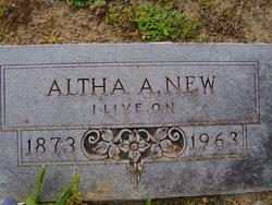 Altha Agnes <i>Miles</i> New