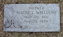 Mattie Cora <i>Crane</i> Williams