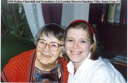 Halina Agatha <i>Lesnick</i> Churchill