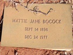 Mattie Jane Bocock