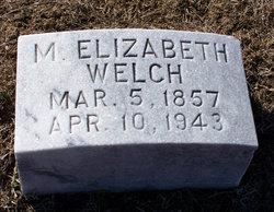 M. Elizabeth Welch