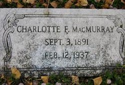 Charlotte Teresa <i>Flemming</i> MacMurray