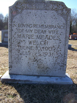 Marie Meades Welch