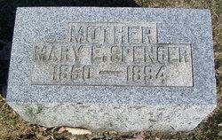 Mary E. <i>Pyles</i> Spencer