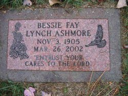 Bessie Fay <i>Lynch</i> Ashmore