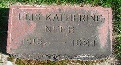 Lois Katherine Neer