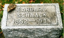 Barbara <i>Dryfoos</i> Schaack