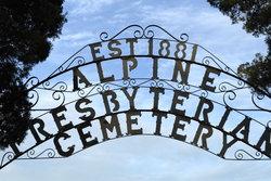 Alpine Presbyterian Cemetery