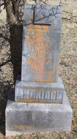 Milton Jiles Aldridge