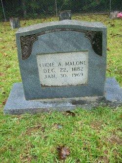 Ludie Alice <i>Allen</i> Malone