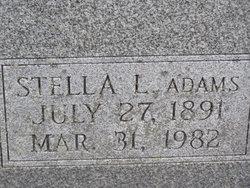 Stella L. <i>Adams</i> Baver