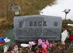 Pauline D <i>Blake</i> Beck