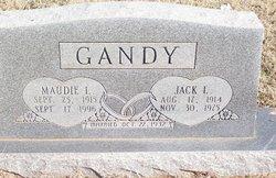 Maudie Lavonia <i>Perkins</i> Gandy