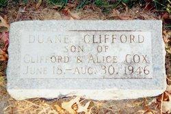 Duane Clifford Cox