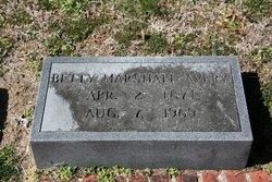 Betty Bricklin <i>Marshall</i> Avery