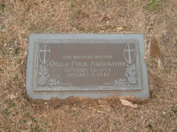 Della Elizabeth <i>Polk</i> Abernathy