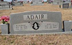 W Herbert Adair