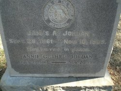 Annie <i>Guthrie</i> Jordan