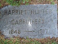 Harriet Hattie <i>Hunter</i> Carruthers