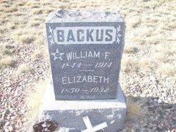 Elizabeth <i>Richardson</i> Backus