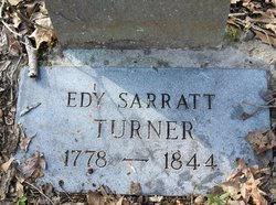 Edith Jane Edy <i>Sarratt</i> Turner