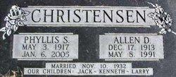 Phyllis <i>Simmons</i> Christensen