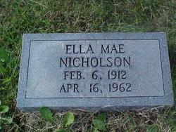 Ella Mae Nicholson