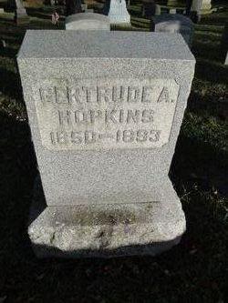 Gertrude A. Hopkins