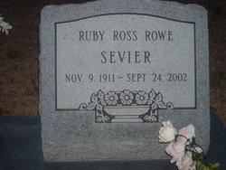 Ruby Ross <i>Rowe</i> Sevier