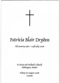 Patricia Blair Dryden