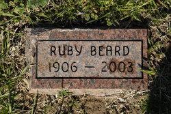 Ruby Agnes <i>Richards</i> Beard