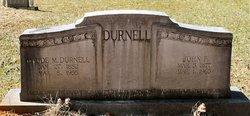 Maude <i>McCutcheon</i> Durnell
