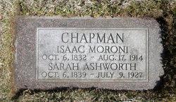 Sarah Ann <i>Ashworth</i> Chapman