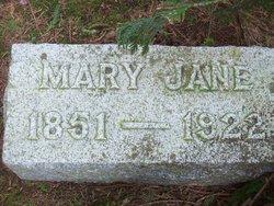 Mary Jane <i>Brown</i> Baker