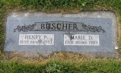 Marie D <i>Metzner</i> Buscher